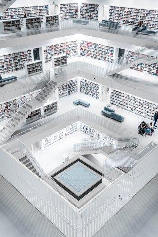 bookishfolk Germany Library Stuttgart