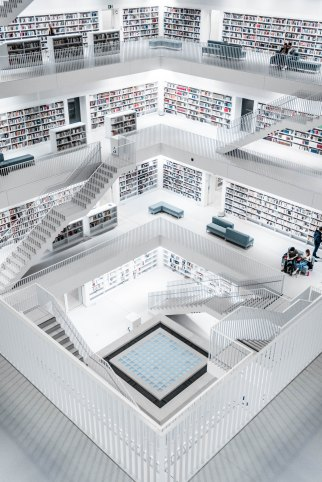 bookishfolk Germany Library Stuttgart
